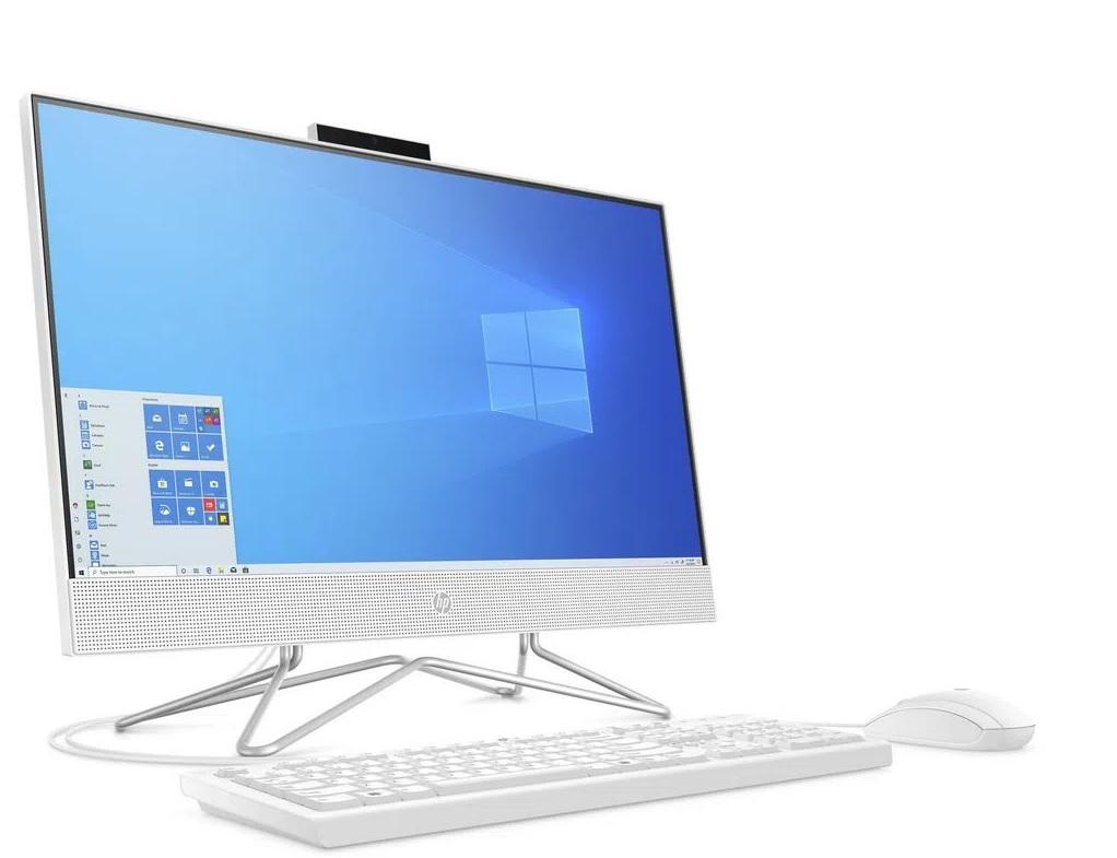 Computador All In One Hp Intel 4Gb 1Tb Win 21.5 Hd Blanco