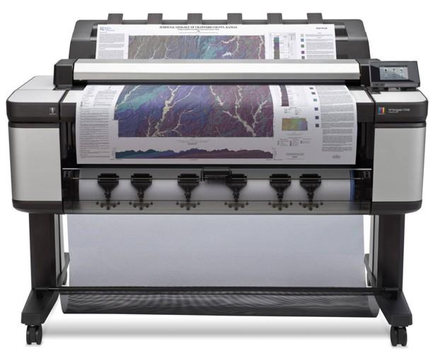 Plotter Multifuncional 36 Hp Designjet T3500 Tama 241 O