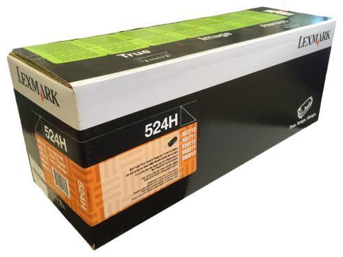 Toner Original Lexmark 52d4h00 524h Negro Para Uso