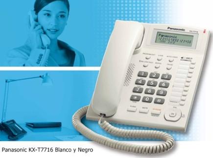 Panasonic kx t7716 telefonos para oficina pantalla 3 for Telefonos de oficinas